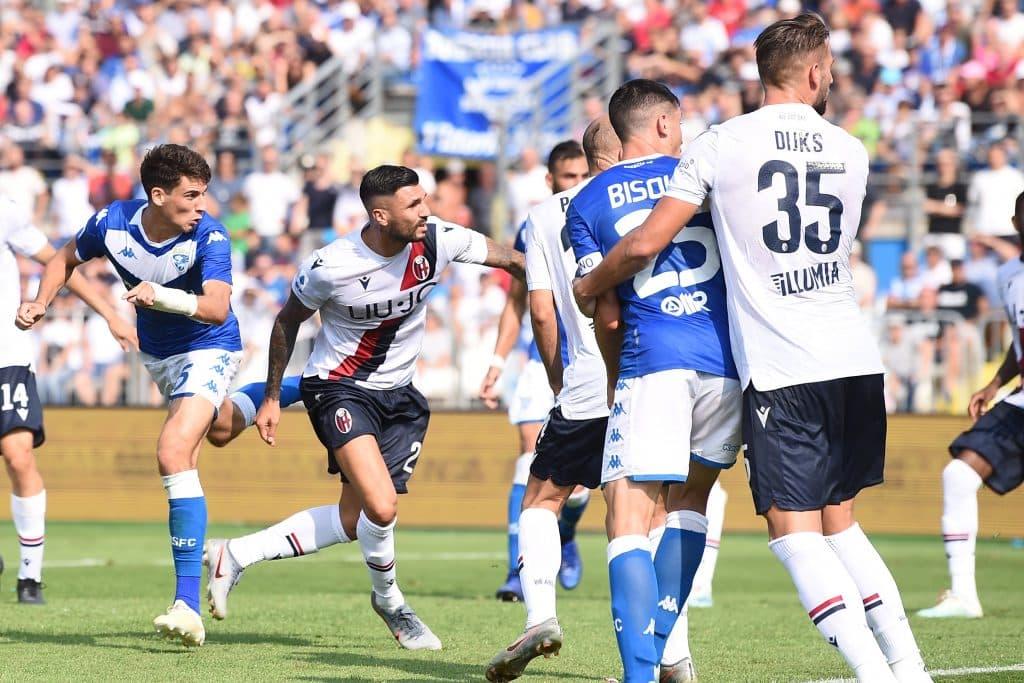 gol Cistana, Brescia-Bologna