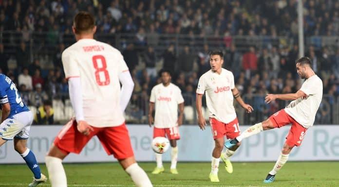 gol Pjanic, Brescia-Juventus