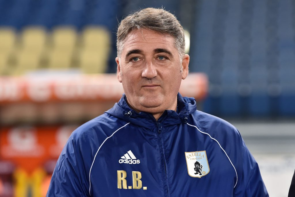 Boscaglia, allenatore Entella