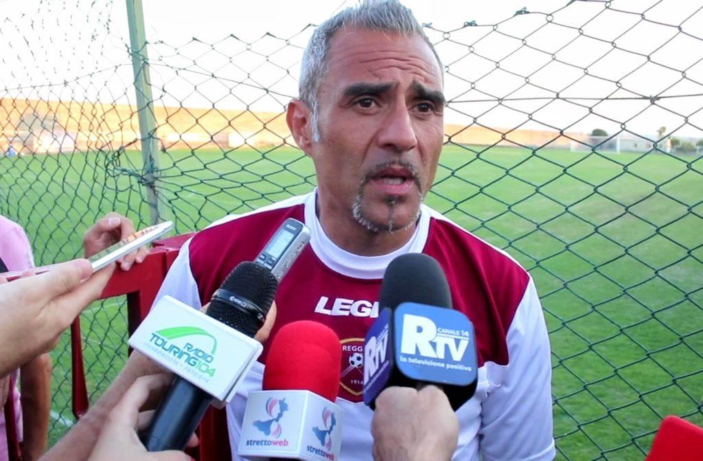 Domenico Toscano, allenatore Reggina