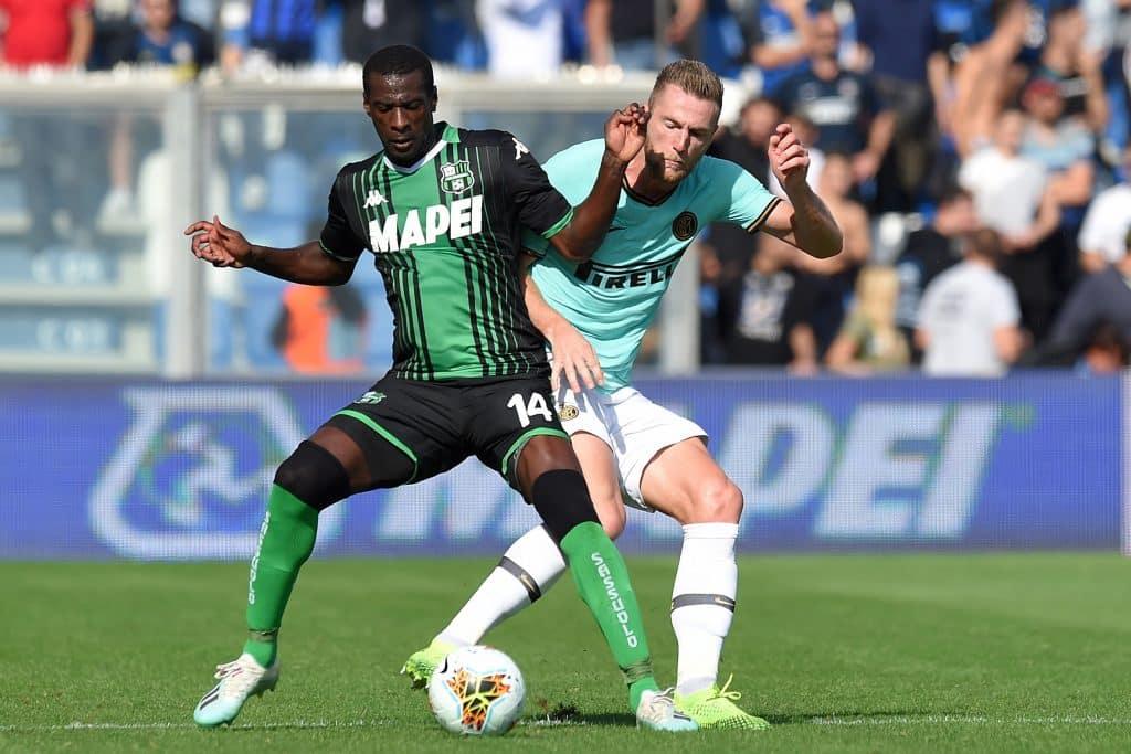 Obiang-Skriniar, Sassuolo-Inter