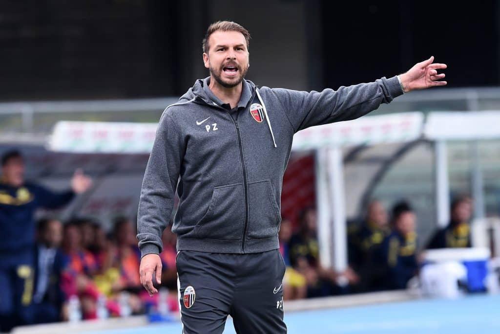 Paolo Zanetti, allenatore Ascoli