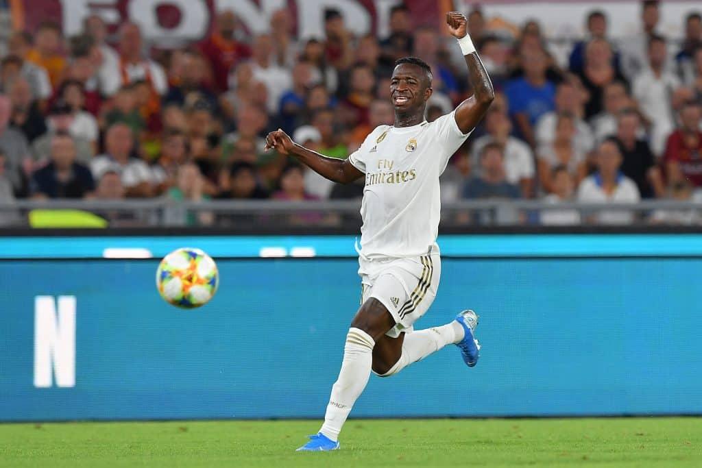 Vinicius, attaccante Real Madrid
