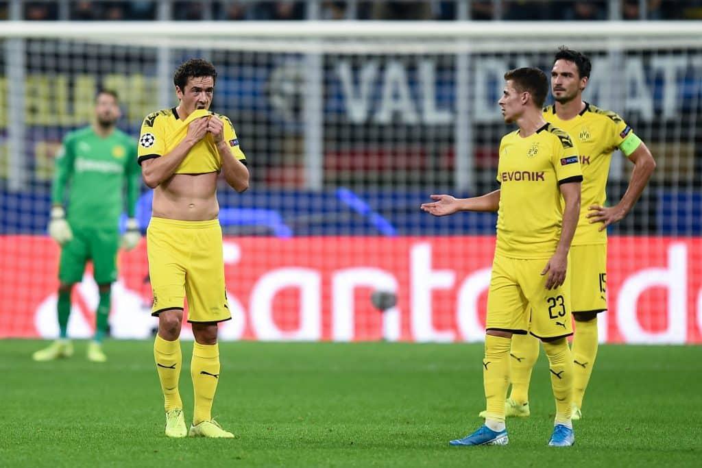 delusione Borussia Dortmund