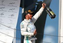 esultanza Hamilton, Formula 1 2019