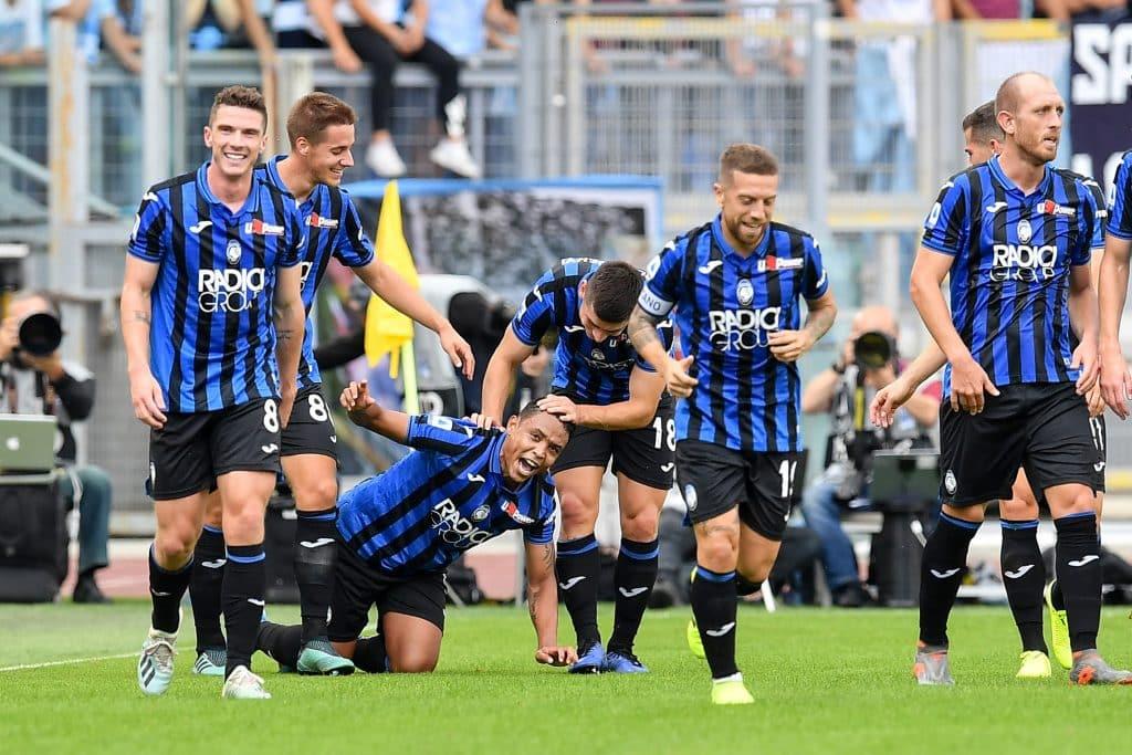 esultanza gol Muriel, Lazio-Atalanta