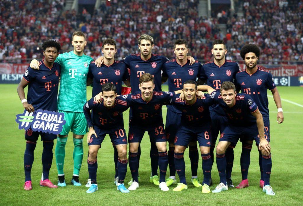 formazione Bayern Monaco