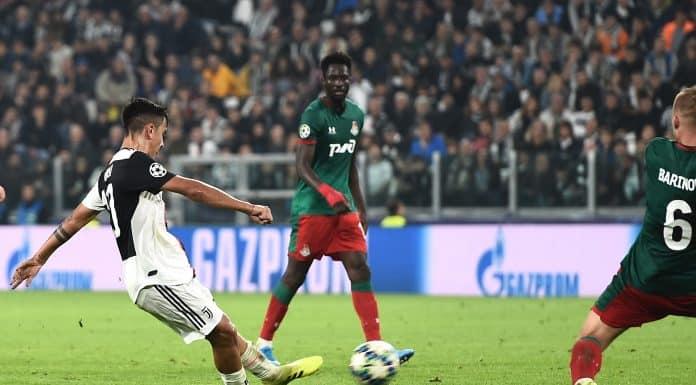 gol Dybala, Juventus-Lokomotiv Mosca