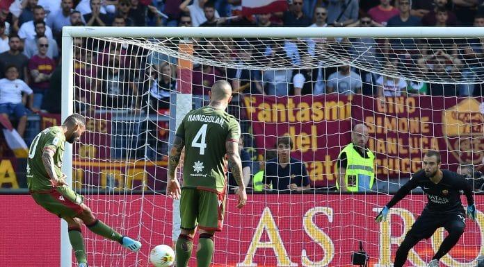 gol Joao Pedro, Roma-Cagliari