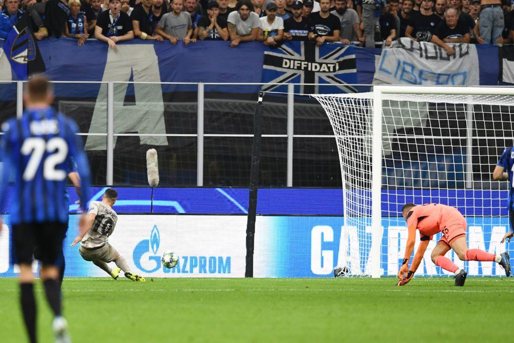 gol Junior Moraes, Atalanta-Shakhtar