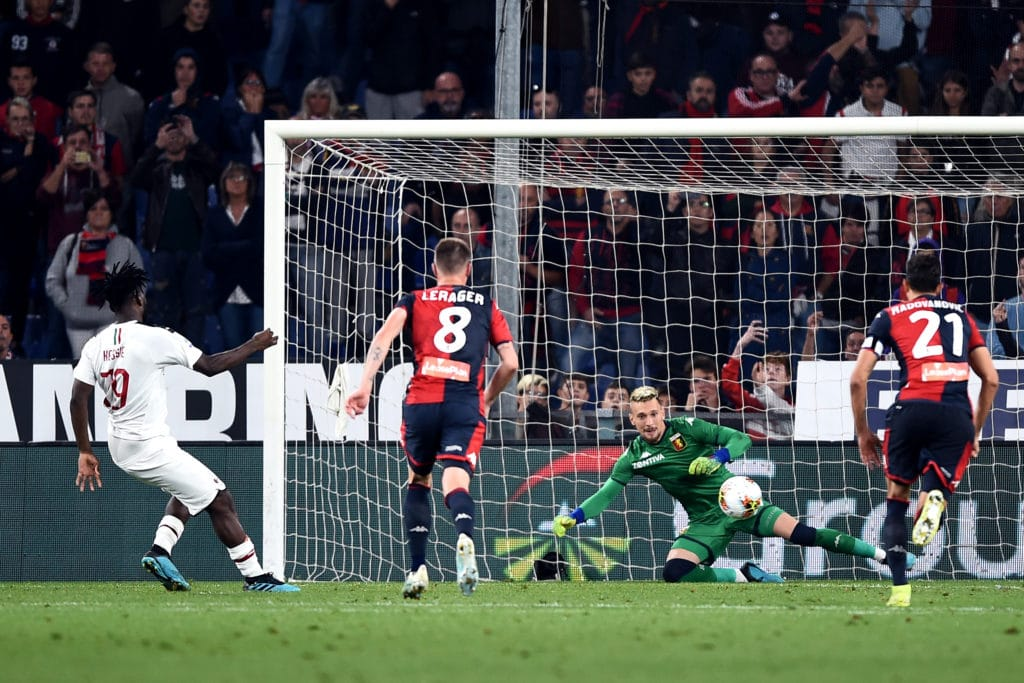 gol Kessie, Genoa-Milan