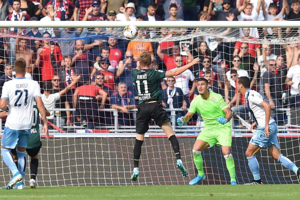 gol Krejci, Bologna-Lazio
