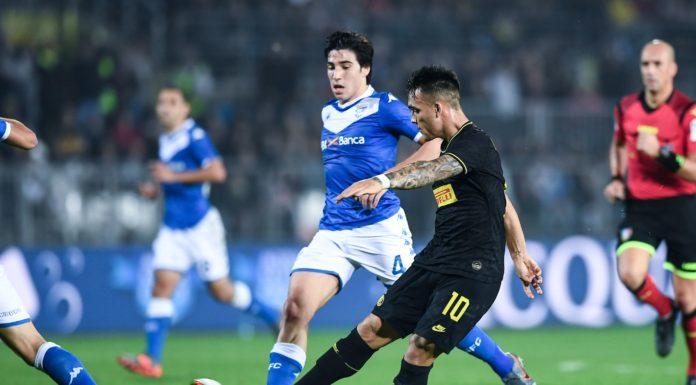 gol Lautaro Martinez, Brescia-Inter