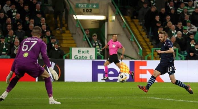 gol Lazzari, Celtic-Lazio