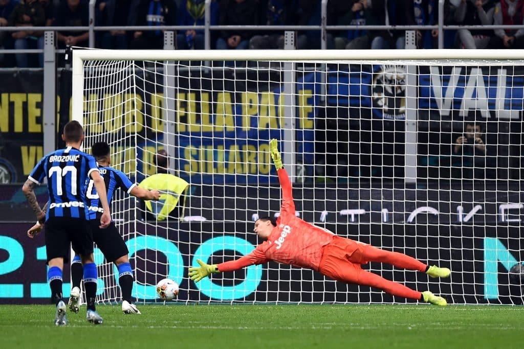 gol Martinez, Inter-Juventus