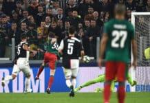 gol Miranchuk, Juventus-Lokomotiv Mosca