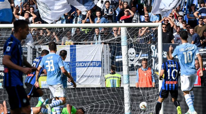 gol Muriel, Lazio-Atalanta