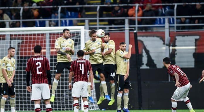 gol Suso, Milan-Spal