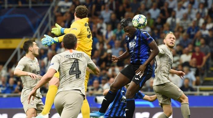 gol Zapata, Atalanta-Shakhtar Donetsk
