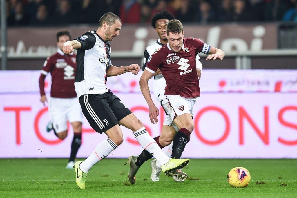 Belotti-Bonucci, Torino-Juventus