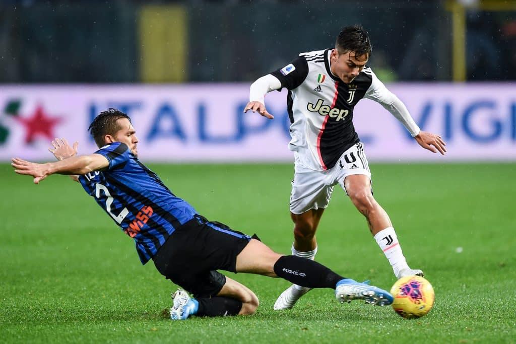 Dybala-Toloi, Atalanta-Juventus