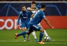 Pjanic durante Lokomotiv Mosca-Juventus