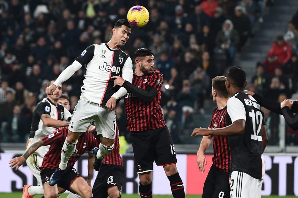 Ronaldo-Hernandez, Juventus-Milan