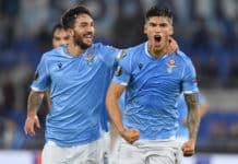esultanza gol Correa, Lazio-Cluj