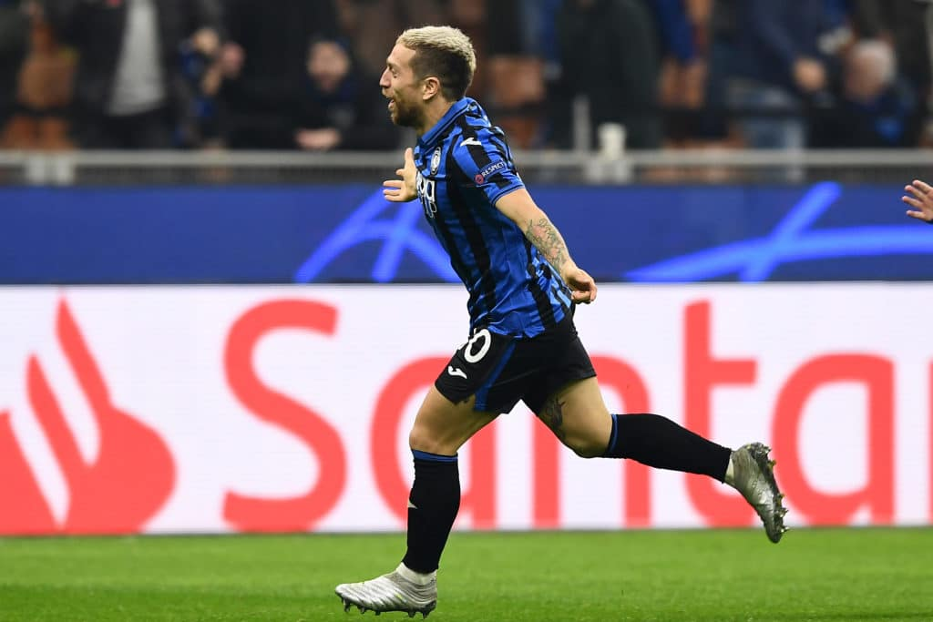 esultanza gol Gomez, Atalanta-Dinamo Zagabria