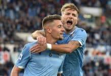 esultanza gol Milinkovic, Lazio-Lecce