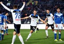 esultanza gol Pasalic, Brescia-Atalanta