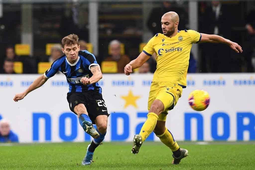 gol Barella, Inter-Verona