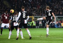 gol De Ligt, derby Torino-Juventus