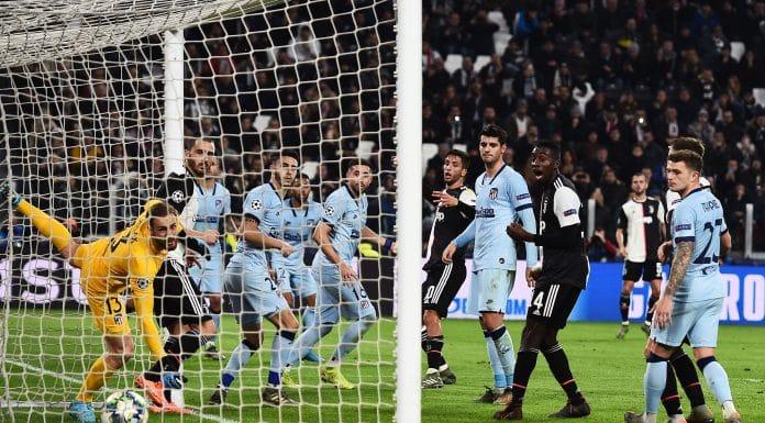 gol Dybala, Juventus-Atletico Madrid