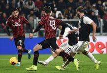 gol Dybala, Juventus-Milan