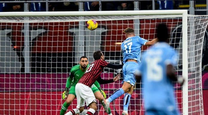 gol Immobile, Milan-Lazio