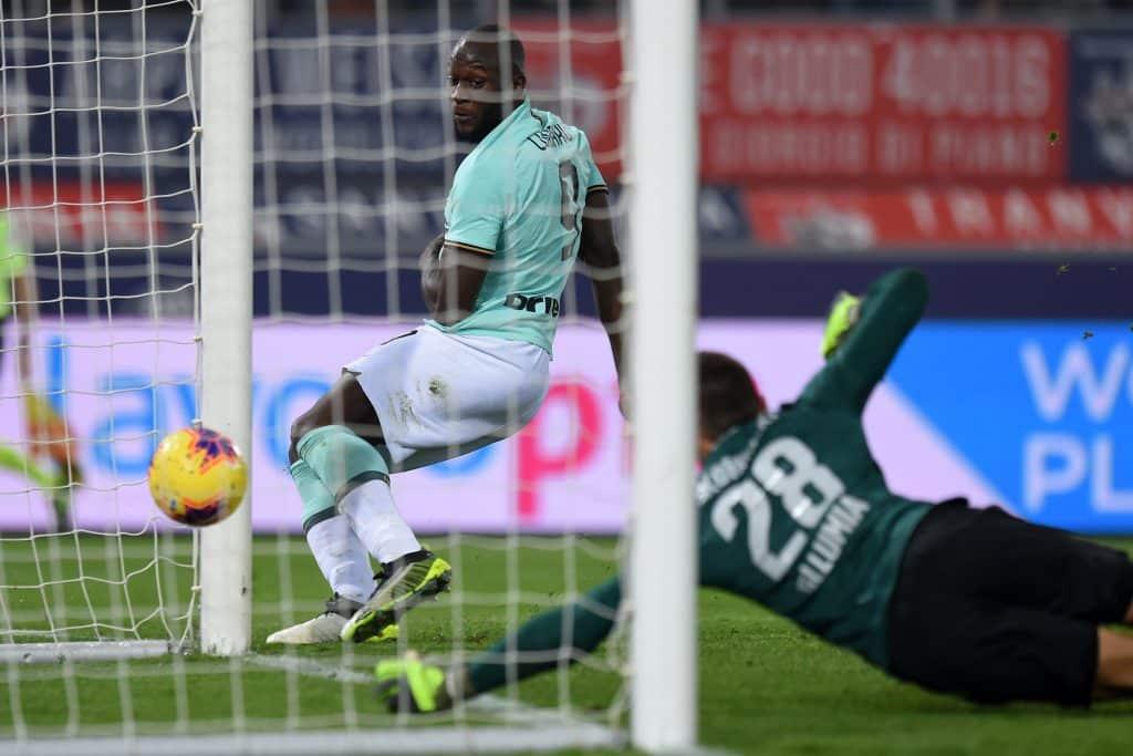 gol Lukaku, Bologna-Inter