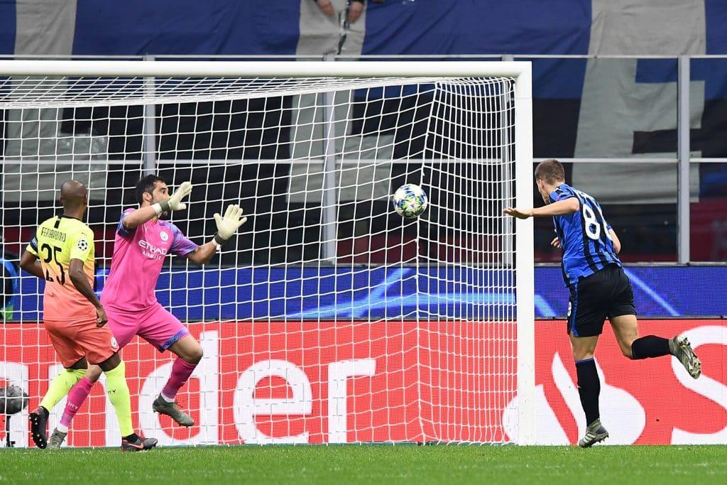 gol Pasalic, Atalanta-Manchester City