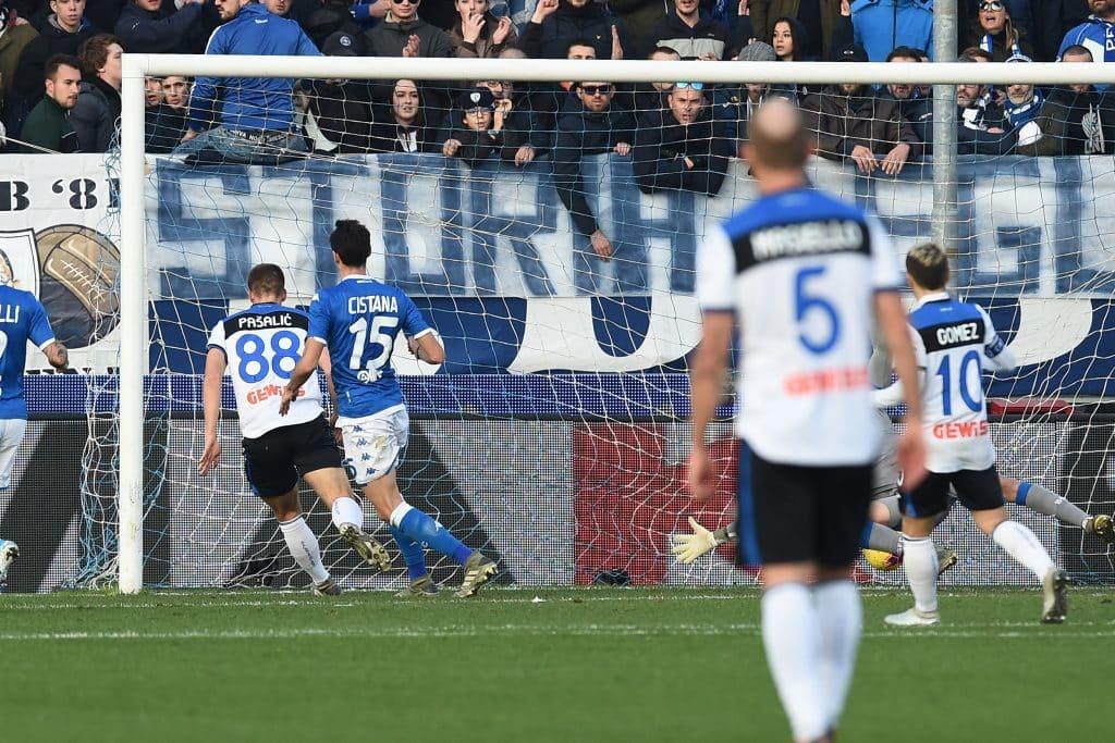 gol Pasalic, Brescia-Atalanta