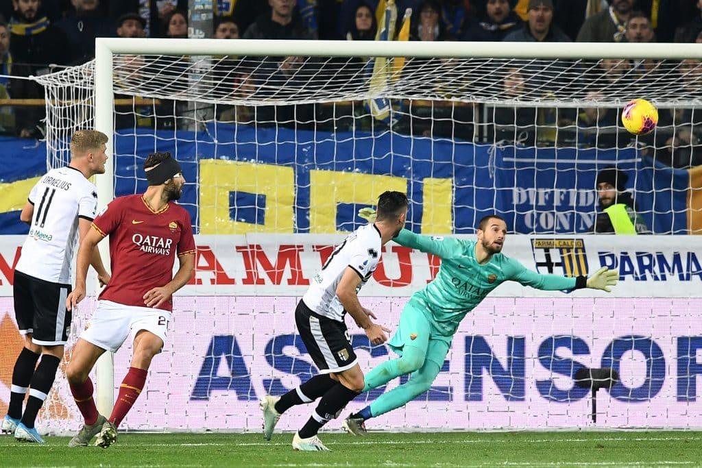 gol Sporcati, Parma-Roma