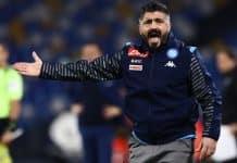 Gattuso durante Napoli-Parma