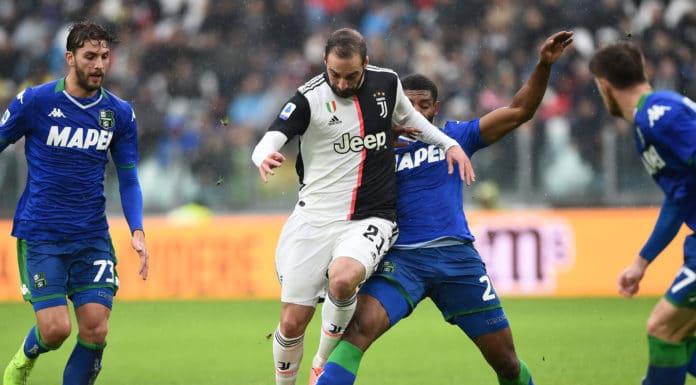 Higuain-Marlon, Juventus-Sassuolo