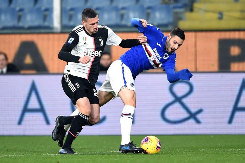 Murru-Demiral, Sampdoria-Juventus