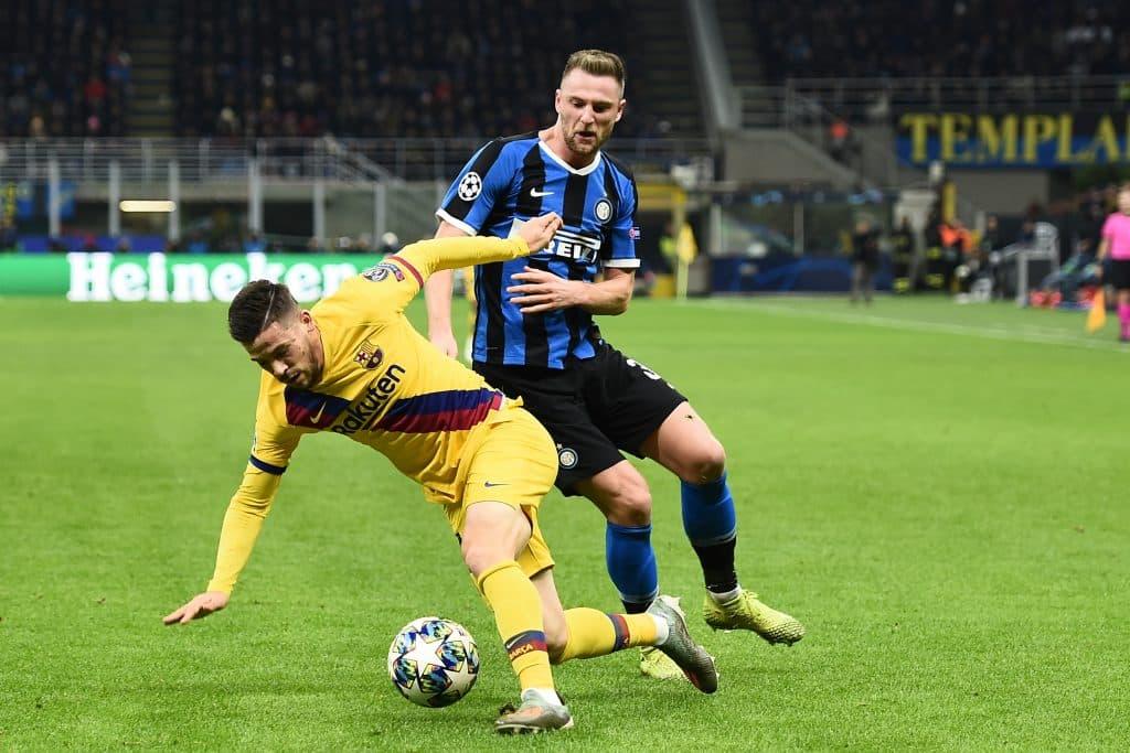 Perez-Skriniar, Inter-Barcellona