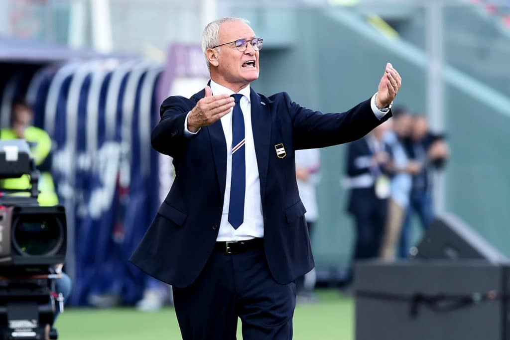Claudio Ranieri, allenatore Sampdoria