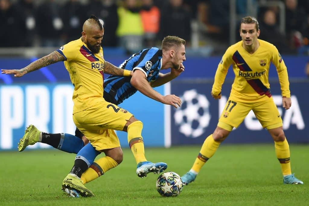 Vidal-Skriniar, Inter-Barcellona
