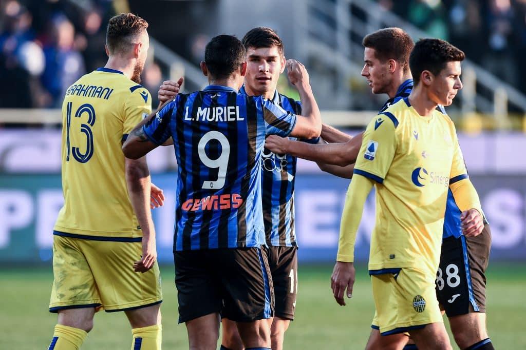 esultanza gol Malinovskyi, Atalanta-Verona