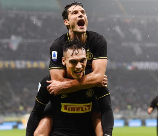 esultanza gol Martinez, Inter-Spal