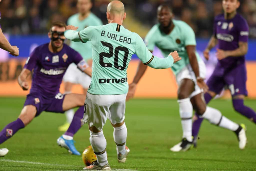 gol Borja Valero, Fiorentina-Inter