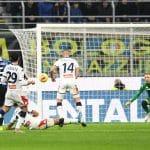 gol Gagliardini, Inter-Genoa
